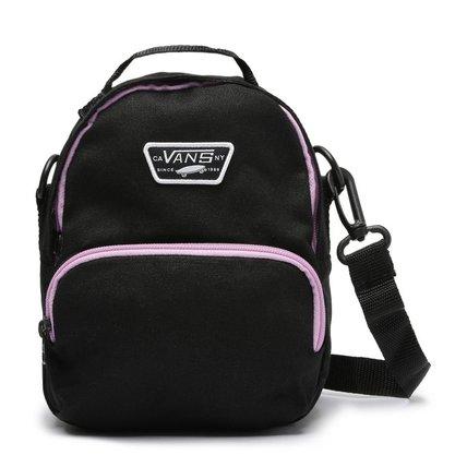 Bolsa Vans Warped Mini Bag Preto/Lilás