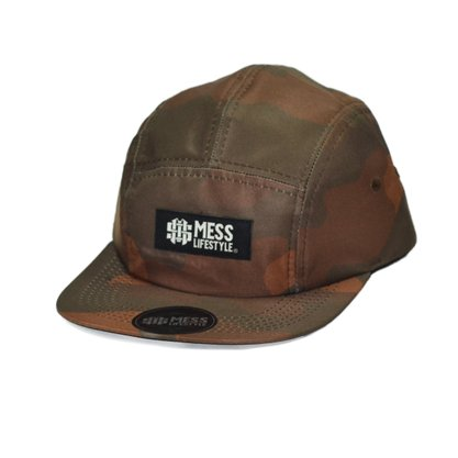Boné 5panel Mess Camuflado
