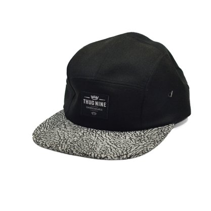 Boné 5panel Thug Nine Preto