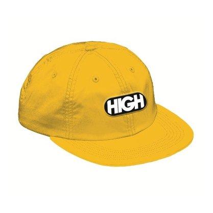 Boné High Company 6 Panel Logo Amarelo