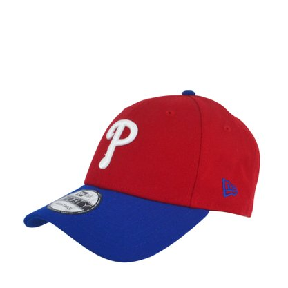 Boné Masculino New Era Philadelphia Phillies MLB Vermelho
