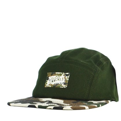 Boné Masculino Official 5panel Camuflado