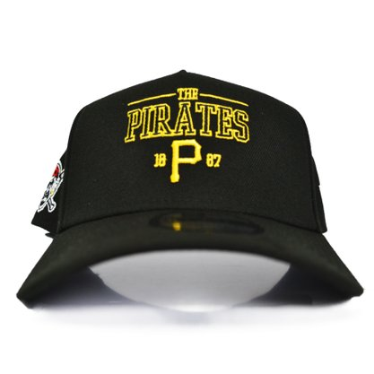 Boné New Era Snap MLB Pittsburgh Pirates Preto