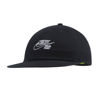 Boné Nike SB Heritage 86 Flatbill Preto