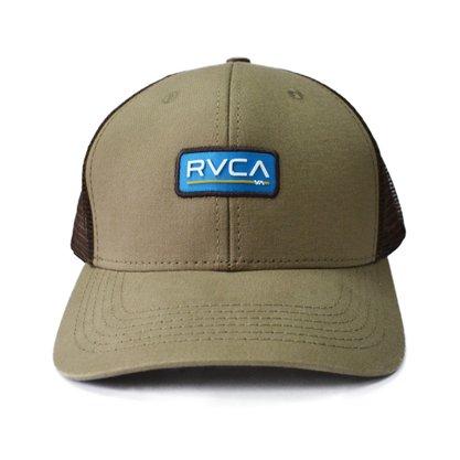 Boné RVCA Ticket Trucker II Marrom