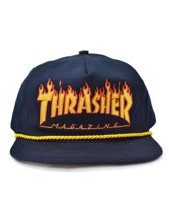 Boné Thrasher Flame Rope Azul Marinho