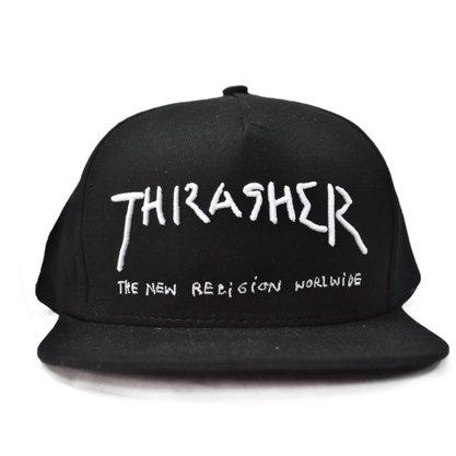 Boné Thrasher New Religion Preto
