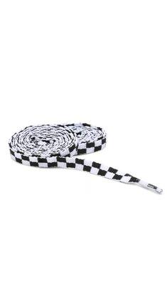 Cadarço Vans Laces Checkboard 115cm Branco/Preto