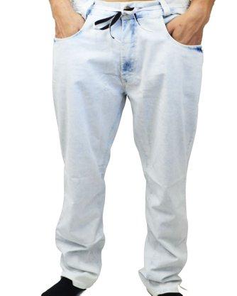 Calça Hocks Gama Large Jeans Claro