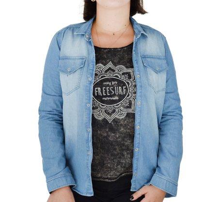 Camisa Freesurf Denim Jeans