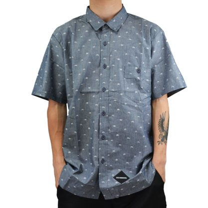 Camisa Hocks Palm Cinza