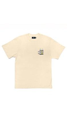 Camiseta à Urban X UFO Amarelo