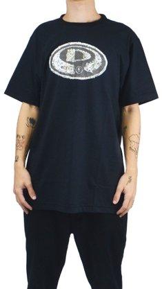 Camiseta Big Drop Dead Faces of Life Preto