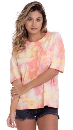 Camiseta Billabong Beach Comber Rosa
