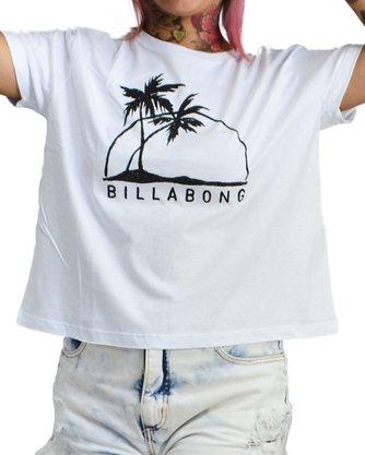 Camiseta Billabong Come At Me Branco