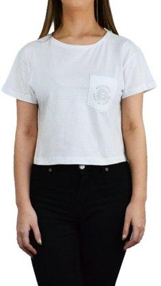 Camiseta Billabong Cropped Summer Of Love Branco