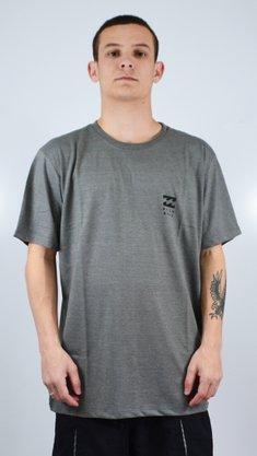 Camiseta Billabong Essential Cinza Mescla Médio