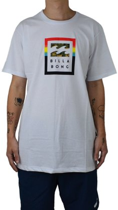 Camiseta Billabong Fire Branco