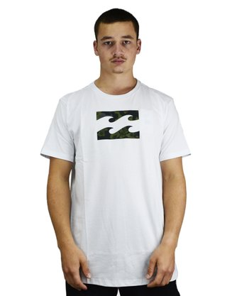 Camiseta Billabong Team Wave II Branco
