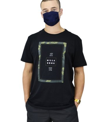 Camiseta Billabong Ticked II Preto
