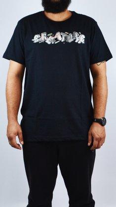 Camiseta Creature Slab DIY Preto