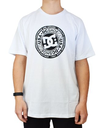 Camiseta DC Shoes Circle Star Branco