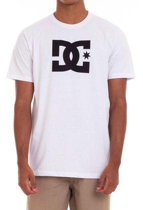 Camiseta DC Shoes Star Branco