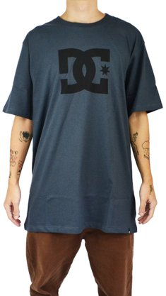 Camiseta DC Shoes Star Cinza Escuro
