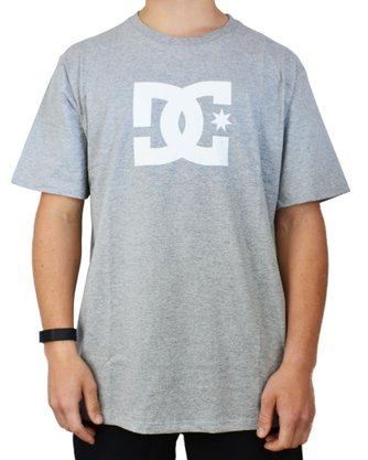 Camiseta DC Shoes Star Mescla Claro