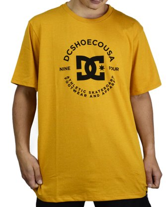 Camiseta DC Shoes Star Pilot Amarelo