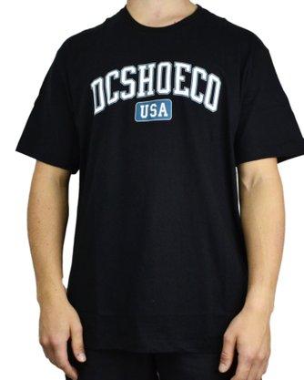 Camiseta DC Shoes Type Logo Preto