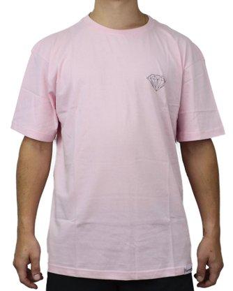 Camiseta Diamond Brilliant Mini Rosa