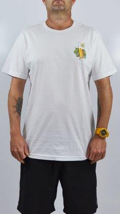 Camiseta Drop Dead Beer Drop Branco