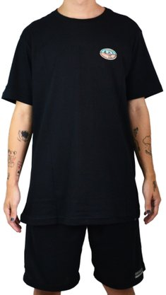Camiseta Drop Dead Chrome Big Preto