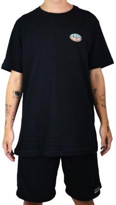Camiseta Drop Dead Chrome Preto