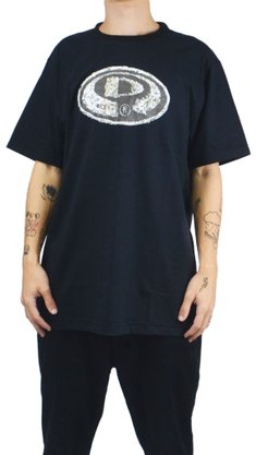 Camiseta Drop Dead Faces of Life Preto