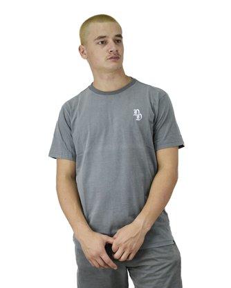 Camiseta Drop Dead Special Dyed Cinza