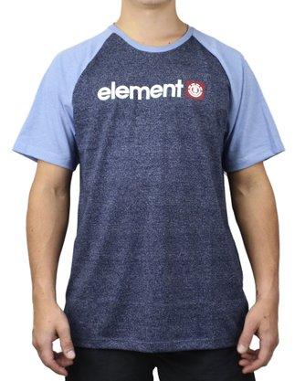 Camiseta Element Blue Ruin Azul Mescla