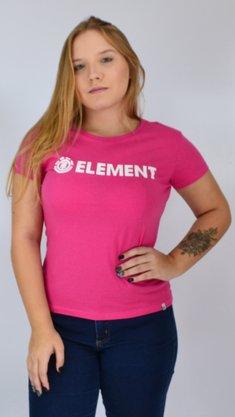 Camiseta Element Logo Rosa