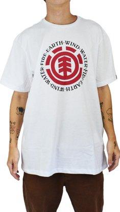 Camiseta Element Seal Logo Branco