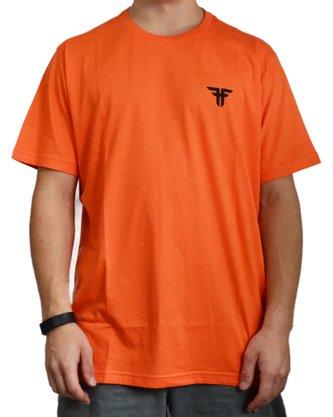 Camiseta Fallen Basic Logo Laranja