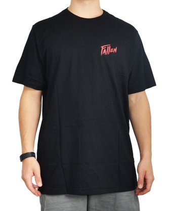 Camiseta Fallen Chris Cole Trooper Preto