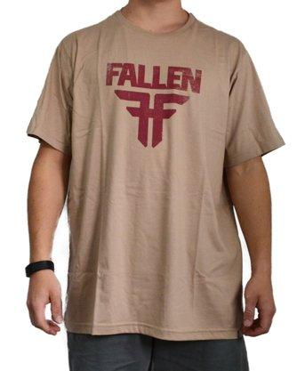 Camiseta Fallen Insignia I Logo Amêndoa