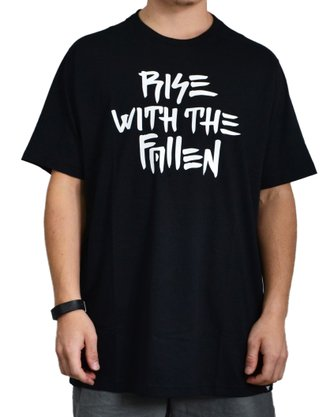 Camiseta Fallen Rise With Preto