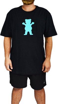 Camiseta Grizzly OG Bear Big Preto