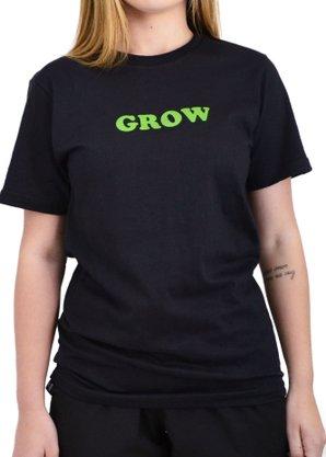 Camiseta Grow Company Mid Preto