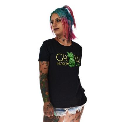 Camiseta Grow Company More Vibe Preto