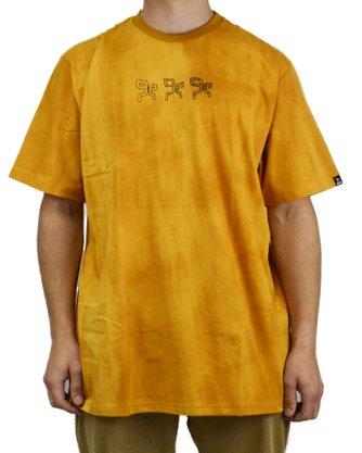 Camiseta Grow Company Tiedye Amarelo
