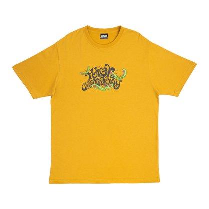 Camiseta High Company Groove Amarelo