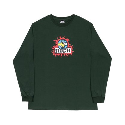 Camiseta High Company Mondo Night Verde Militar